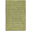 Kaleen Regale 8-ft x 11-ft Rectangular Green Solid Area Rug