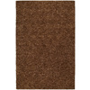 Kaleen Regale 5-ft x 7-ft 6-in Rectangular Brown Solid Area Rug