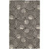 Kaleen Astronomy 5-ft x 7-ft 6-in Rectangular Gray Geometric Area Rug
