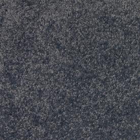 STAINMASTER Indulgence Grey Blue Textured Indoor Carpet
