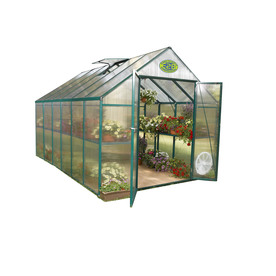 EasyGrow 12-ft L x 8-ft W x 7.6-ft H Metal Greenhouse