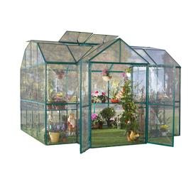 STC 10-ft L x 10-ft W x 9-ft H Metal Greenhouse