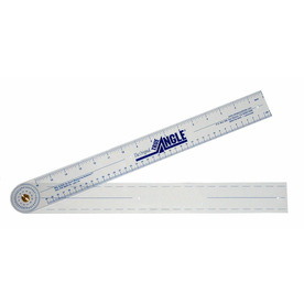"""QUINT MEASURING SYSTEMS Shop Size 23"""" True Angle"""
