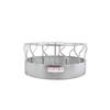 Tarter 8-ft L Hay Feeder Extra Heavy Duty S-Bar 3-Piece w/ Metal - Galvanized