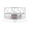 Tarter 8-ft Hay Feeder Extra Heavy Duty S-Bar 3-Piece w/ Metal and Loop - Galvanized