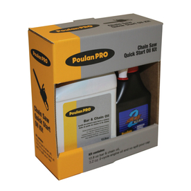 Poulan Pro 3-Pack 32-oz Synthetic Blend Bar and Chain Oil