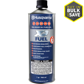 Husqvarna Pre-Mix Fuel 1-Quart Pre-Blended 2-Cycle Fuel