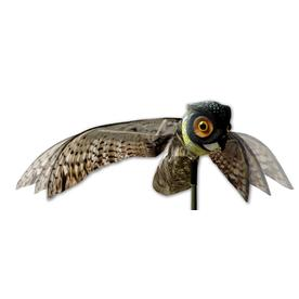 Bird-X 6-in H 23-in L Bird Repelling Owl Statue