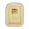 Pet Select Natural Polyester Rectangular Dog Bed