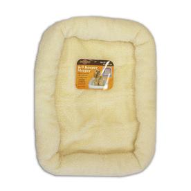 Pet Select Natural Polyester Rectangular Dog Bed