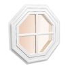 AWSCO Octagon Replacement Window (Rough Opening: 14-in x 14-in; Actual: 16-in x 16-in)