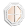 AWSCO Octagon Replacement Window (Rough Opening: 21.75-in x 21.75-in; Actual: 23.75-in x 23.75-in)