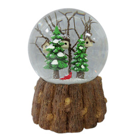 Holiday Living Musical Tabletop Snow Globe Indoor Christmas Decoration LW26-FXJE011