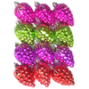 Holiday Living 12-Pack Multicolor Plastic Shatterproof Cone Ornaments