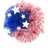 24-in Patriotic Polymesh Wreath-Flag