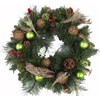 lowes deals on Holiday Living 30-in Green Berries Scotch Christmas Wreath