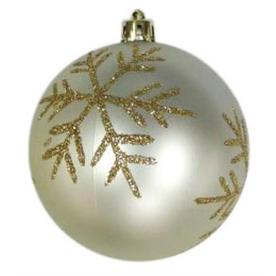 Holiday Living Silver with Gold Accents Ornament