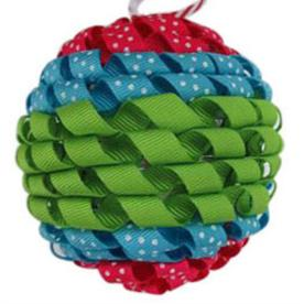 Holiday Living Bright and Festive Colors Knit Shatterproof 4