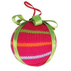 Holiday Living Bright and Festive Holiday Colors Knit Shatterproof 3