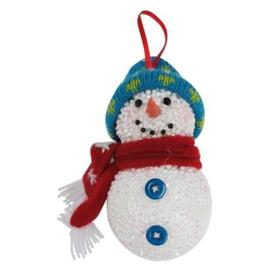 Holiday Living White with Festive Holiday Accents Knit 5