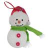 Holiday Living White with Festive Holiday Accents Ornament