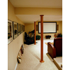 Pole-Wrap 48-in L x 8-ft H Unfinished Cherry Fluted Column Wrap