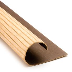 Pole-Wrap 48-in L x 8-ft H Unfinished Oak Fluted Column Wrap