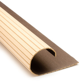 Pole-Wrap 12-in L x 8-ft H Unfinished MDF Fluted Column Wrap