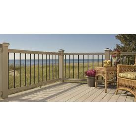 Deckorators 10-Pack 32-in Black Aluminum Classic Balusters