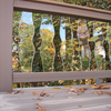 Deckorators 5-Pack 32-in Clear Glass Scenic Baluster