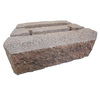 Red Charcoal Insignia Concrete Retaining Wall Block (Common: 12-in x 4-in; Actual: 12-in x 4-in)