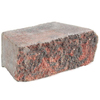 Red/Char Basic Concrete Retaining Wall Block (Common: 12-in x 4-in; Actual: 11.7-in x 4-in)