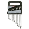 Task Force 10-Piece Standard Polished Chrome Standard (SAE) Wrench Set