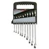 Task Force 10-Piece Standard Polished Chrome Standard (SAE) Wrench Set
