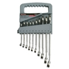 Task Force 10-Piece Standard Polished Chrome Metric Wrench Set