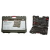 Task Force 160-Piece Standard/Metric Mechanics Tool Set with Case