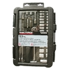 Task Force 53-Piece Standard/Metric Mechanics Tool Set with Case