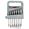 Task Force 7-Piece Standard Polished Chrome Metric Wrench Set