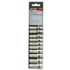 Task Force 10-Piece Standard 1/4-in Drive 6-Point Socket Set