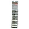 Task Force 10-Piece Metric 1/4-in Drive 6-Point Socket Set