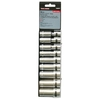 Task Force 9-Piece Standard 3/8-in Drive 6-Point Socket Set