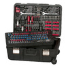Task Force 204-Piece Standard/Metric Mechanics Tool Set with Case