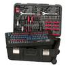Task Force 204-Piece Standard (SAE) and Metric Combination Mechanic's Tool Set