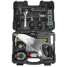 Blue Hawk Household Tool Set with Hard Case (59-Piece)