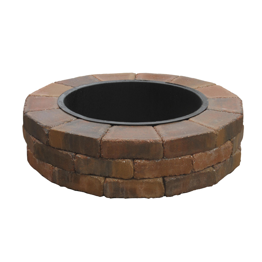 Shop Country Stone Fire Ring Firepit Patio Block Project