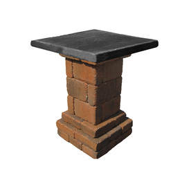 Country Stone Homestead Pub Table Patio Block Project Kit