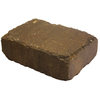 Country Stone 12-in L x 4-in H Autumn Blend Homestead Retaining Wall Block (Actuals 11.25-in L x 3.75-in H)