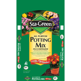 Sta-Green 64-Quart Potting Soil
