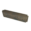 Country Stone 21-in L x 6-in H Tan and Black Lexington Retaining Wall Block (Actuals 21-in L x 5.5-in H)
