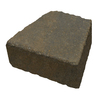 Country Stone Tan/Black Homestead Concrete Retaining Wall Block (Common: 9-in x 4-in; Actual: 9-in x 3.7-in)